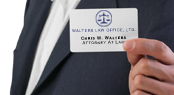 Chris W. Walters, Attorney at law.